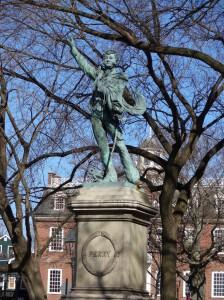 Newport Statue