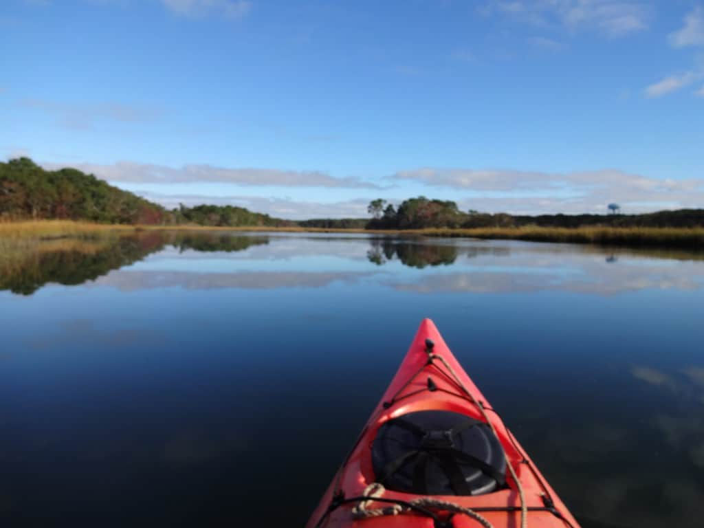 Kayaking in Harwich Cape Cod