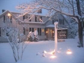Snowy Cape Cod Inn