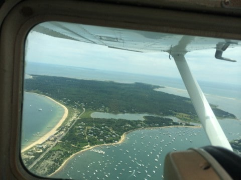 On Approach to Martha's Vineyard