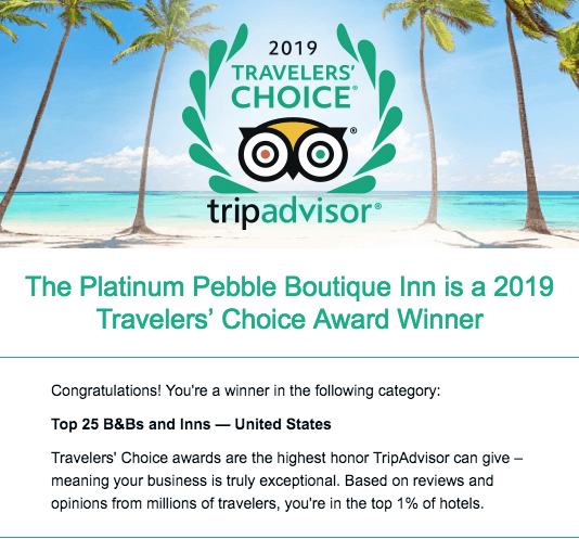 Cape Cod Lodging - Press + Reviews | The Platinum Pebble Boutique