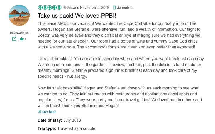 Cape Cod Lodging - Press + Reviews | The Platinum Pebble