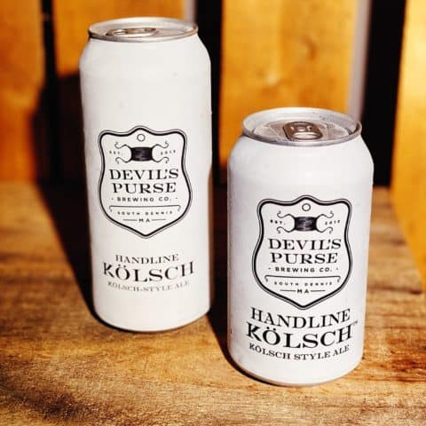 two white beer cans